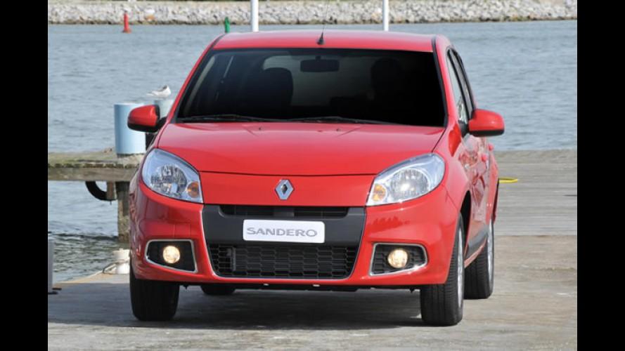 RECORDE: Renault emplaca quase 200 mil unidades no Brasil em 2011