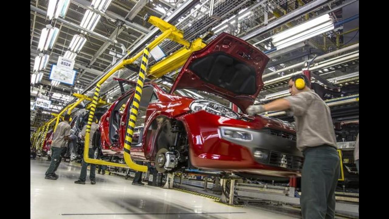 Fiat: 3 mil funcionários terão férias coletivas na fábrica de Betim