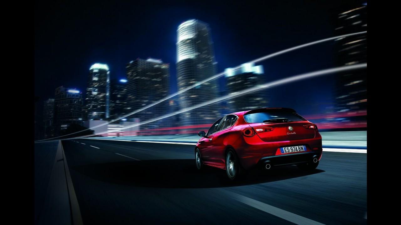 Alfa Romeo mostra Giulietta renovado antes da estreia em Frankfurt