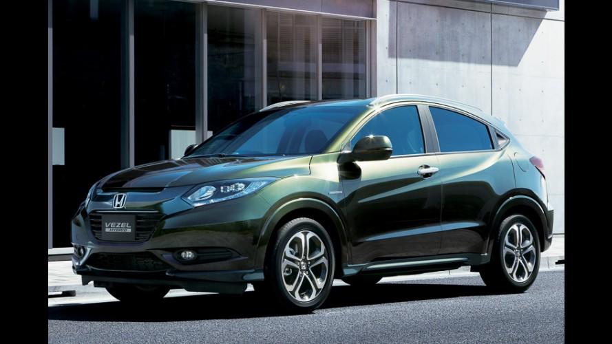 Galeria: novas imagens do Vezel, jipinho da Honda que será brasileiro em 2015