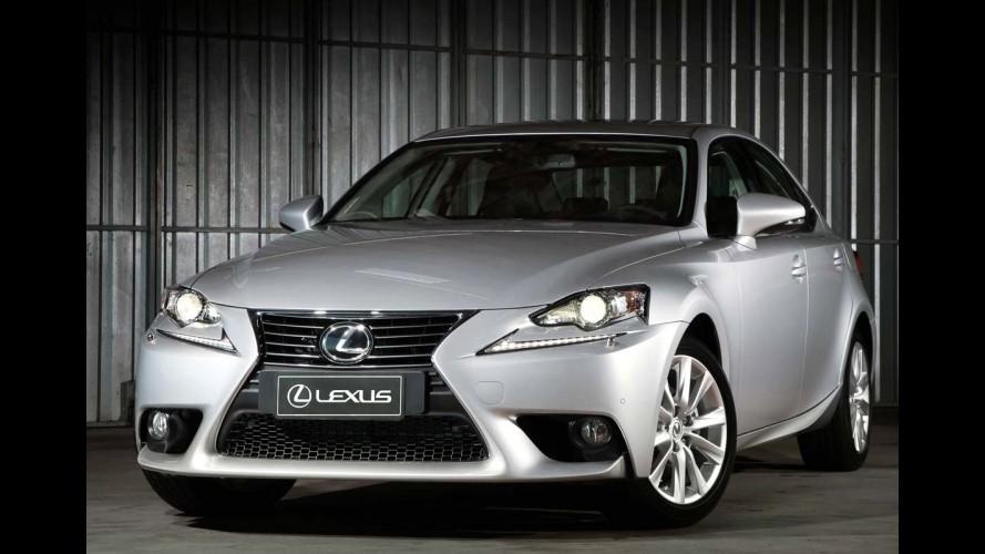 Lexus traz a nova geração do IS 250 para o Brasil por R$ 175 mil