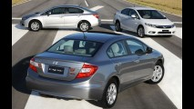 Sedãs médios: Honda Civic lidera em 13 estados no mês de março