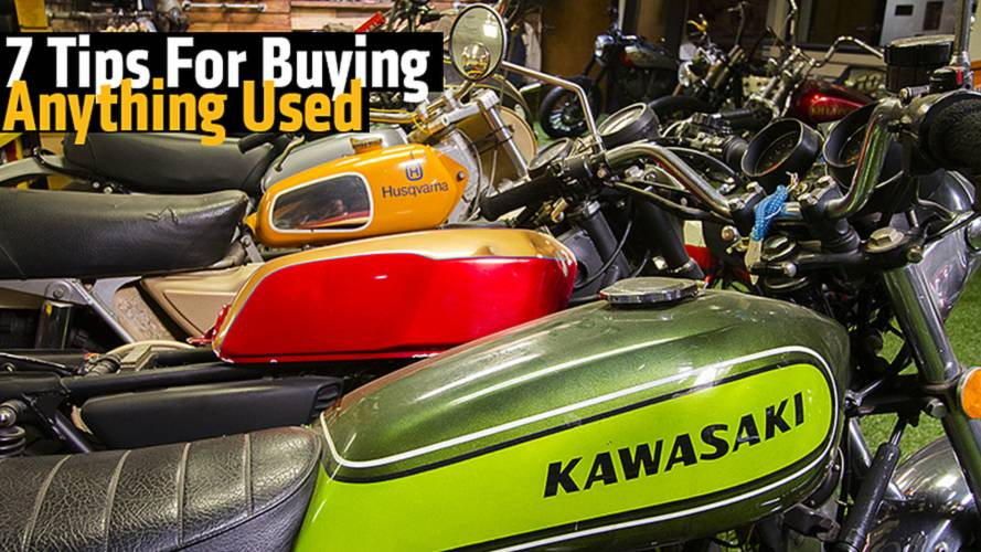 7 Tips For Buying Anything Used