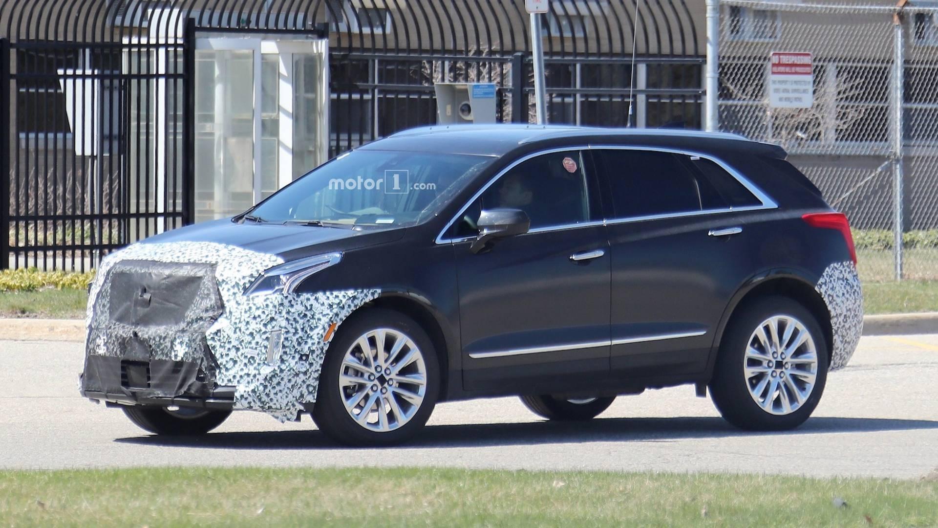 2020 Spy Shots Cadillac Xt5 Model
