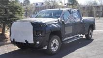 General Motors HD Pickup Spy Photos
