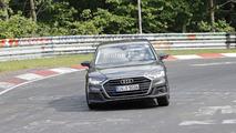 Nuova Audi S8, le foto spia al Nurburgring