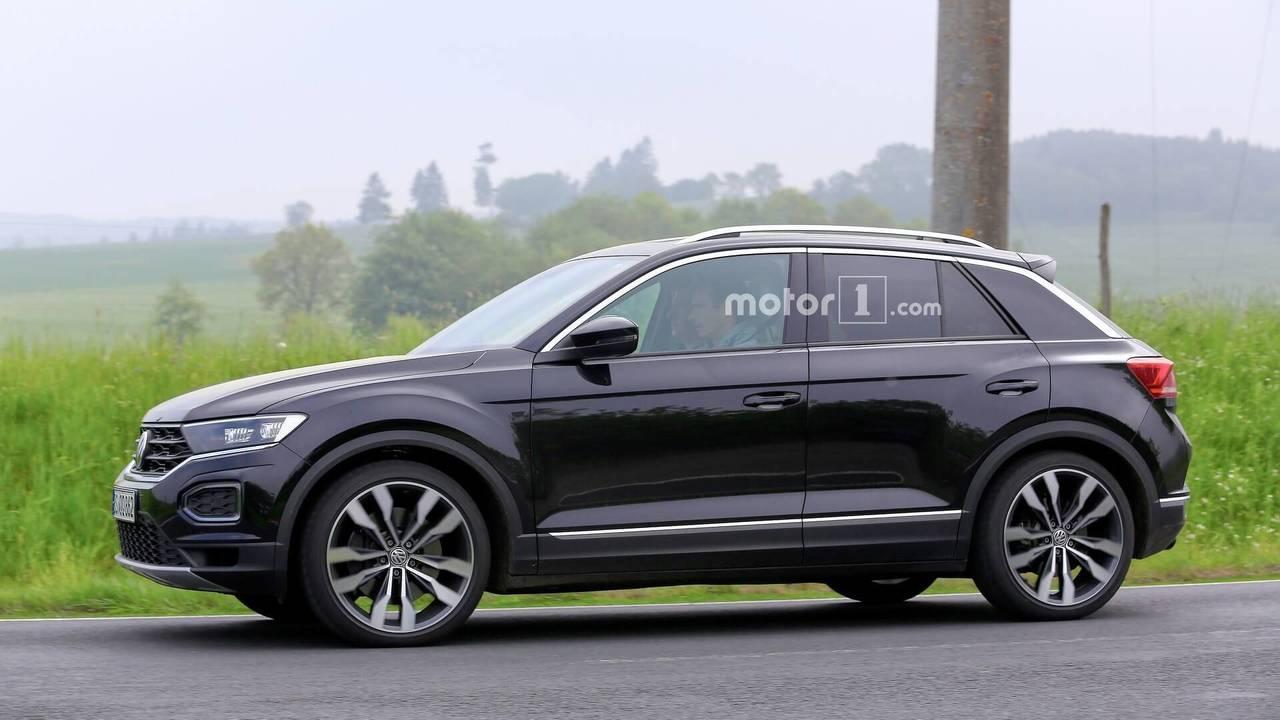 VW T-Roc R 2019 fotos espía
