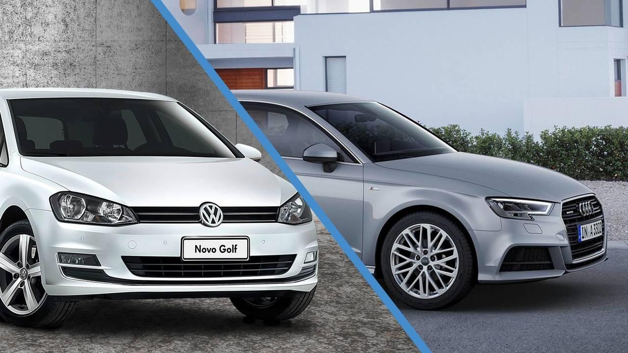 Volkswagen Golf & Audi A3