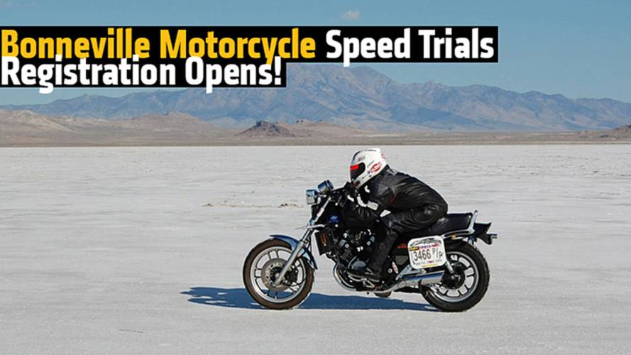 Bonneville Motorcycle Speed Trials Registration Opens!