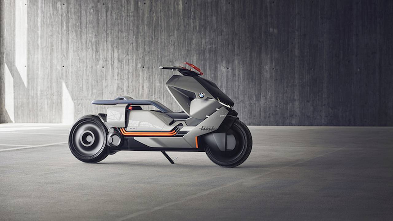 BMW E-Scooter Concept Looks Straight Out of Star Wars