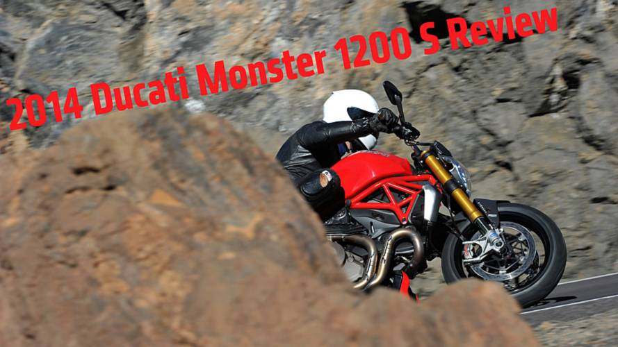 First Ride: 2014 Ducati Monster 1200 S Review