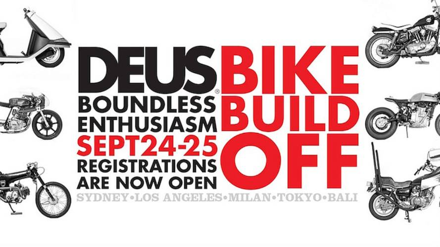 Call for Entries - Deus Boundless Enthusiasm Bike Build Off 2016