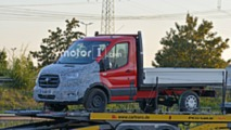 Ford Transit with AWD spy photo
