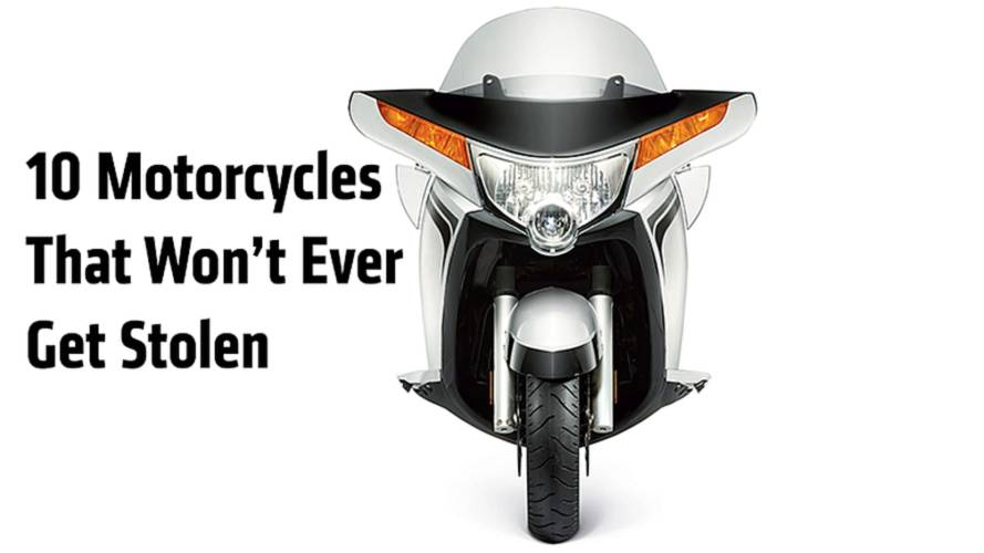 10 New Motorcycles That Won't Ever Get Stolen