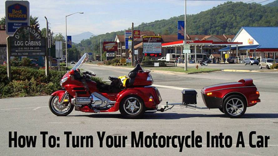 10 Ways To Turn Your Motorcycle Into A Car