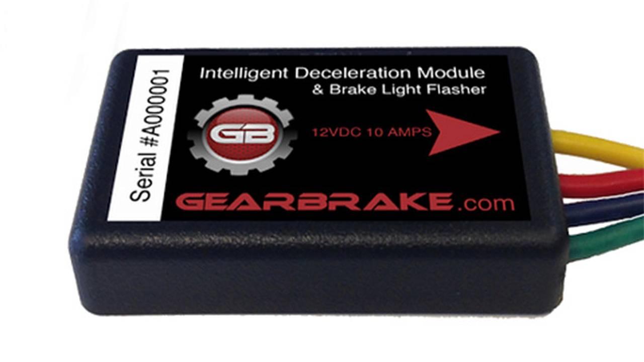 Testing the Flashing Brake Light, The Gear Brake Module