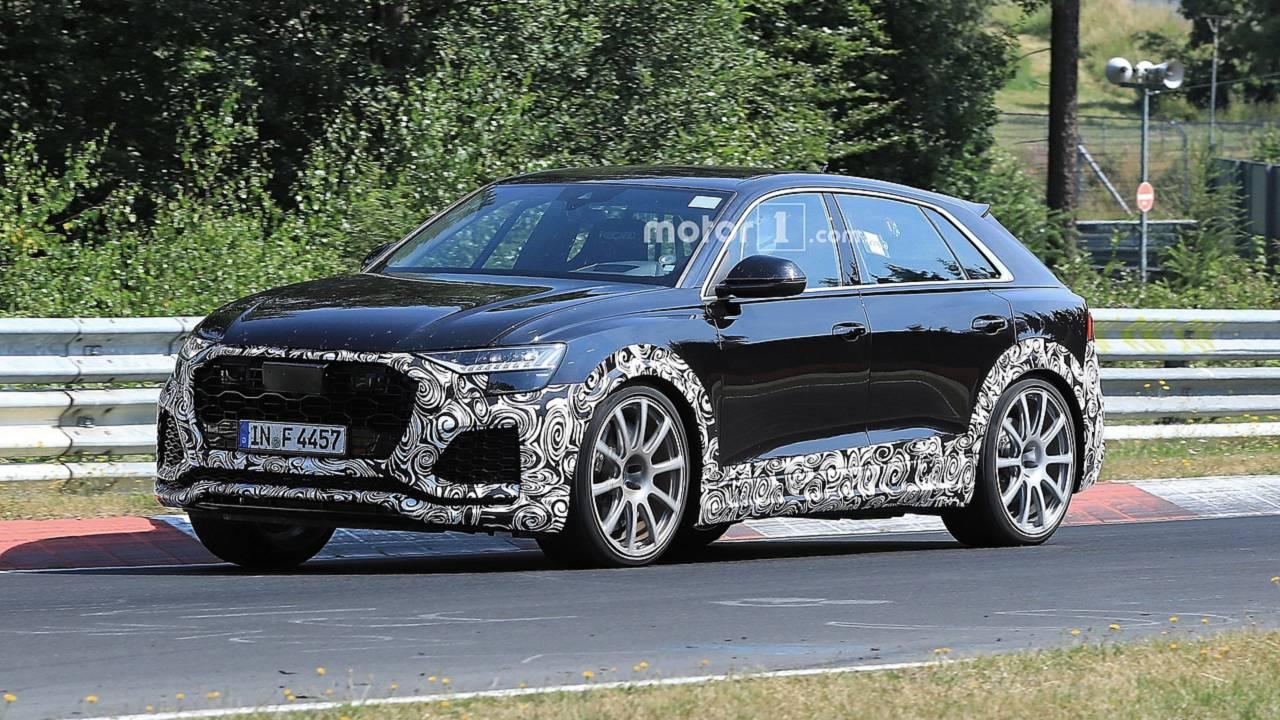 2020 Audi RS Q8 foto spia