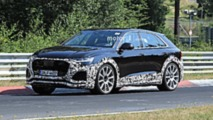 2020 Audi RS Q8 spy photo