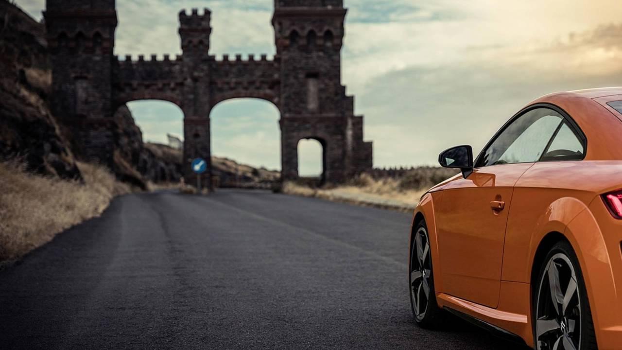 2019 Audi TT teaser photo