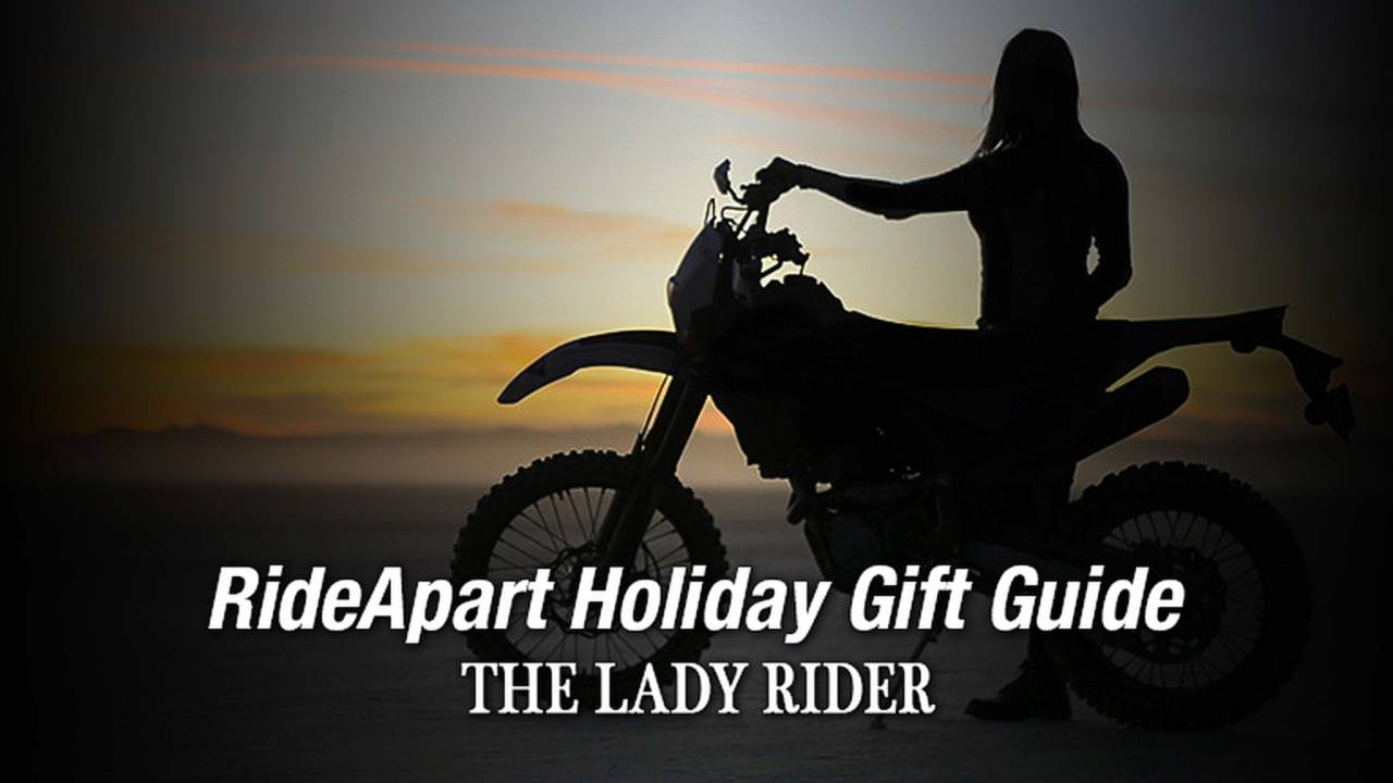 For Your Lady Rider - RideApart Holiday Gift Guide