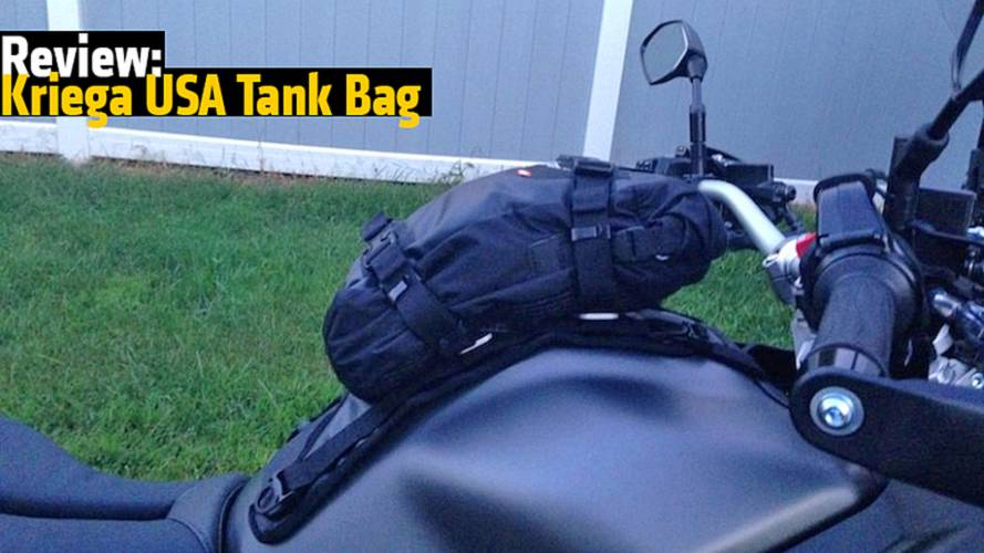 Review: Kriega USA Tank Bag
