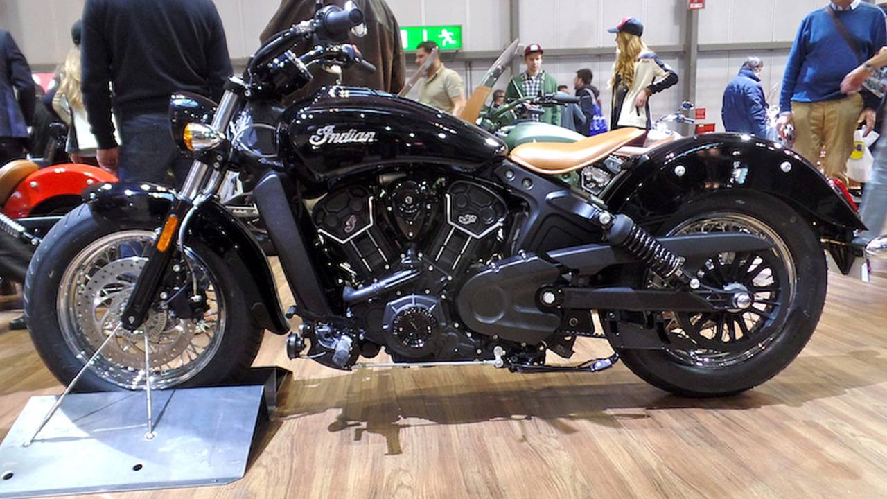 Indian Unveils New 'Scout Sixty' –EICMA 2015
