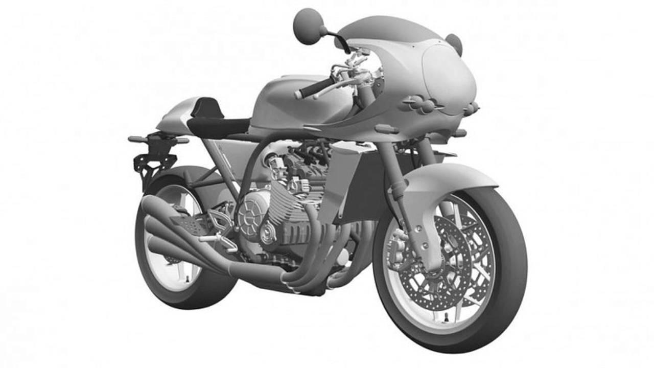 Yeni Honda CBX Patent Çizimleri
