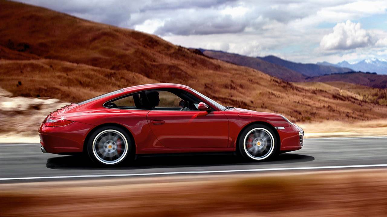 3. Porsche 911 Coupe –4,637 miles