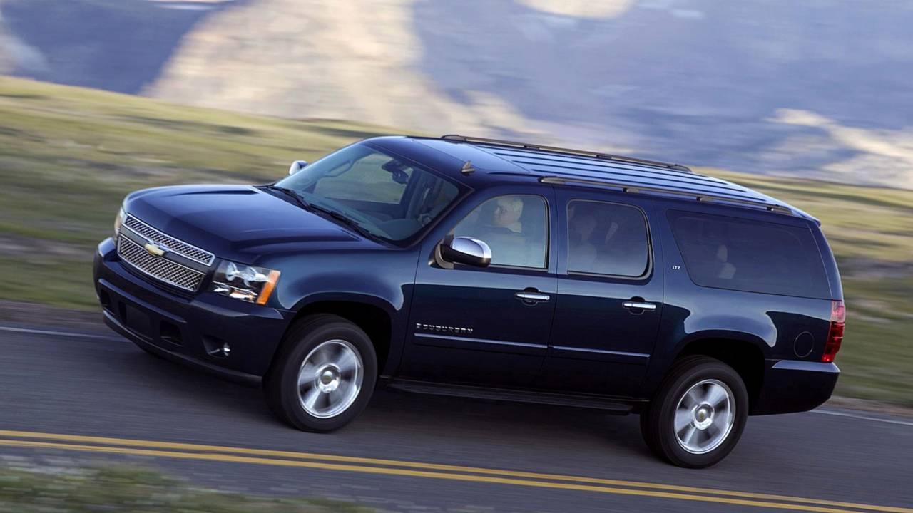 1. Chevrolet Suburban –14,299 miles