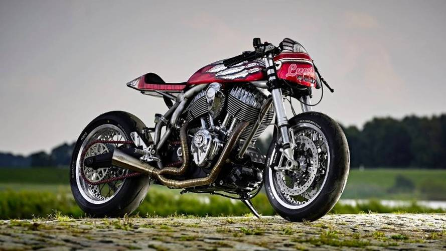 "Bike Of The Week: Detlev Louis Motorrad's ""Engina"" Indian Chief Cafe Racer"