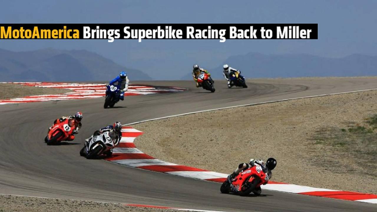 MotoAmerica Brings Superbike Racing Back to Miller