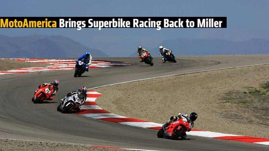 MotoAmerica Brings Superbike Racing Back to Miller