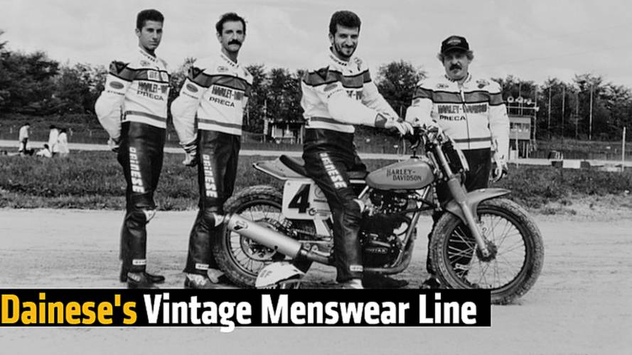 Dainese's Vintage Menswear Line - 36060 Capsule Collection