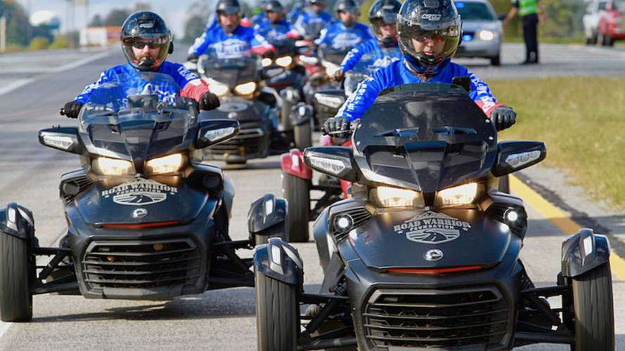 Can-Am Rides With Road Warrior Foundation