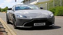 Aston Martin Vantage S Spy Shots