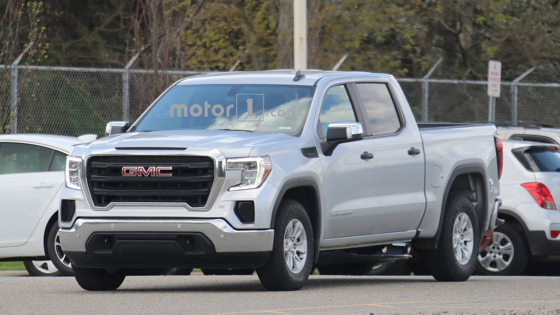 Entry-Level 2019 GMC Sierra 1500 Spied Looking Quite