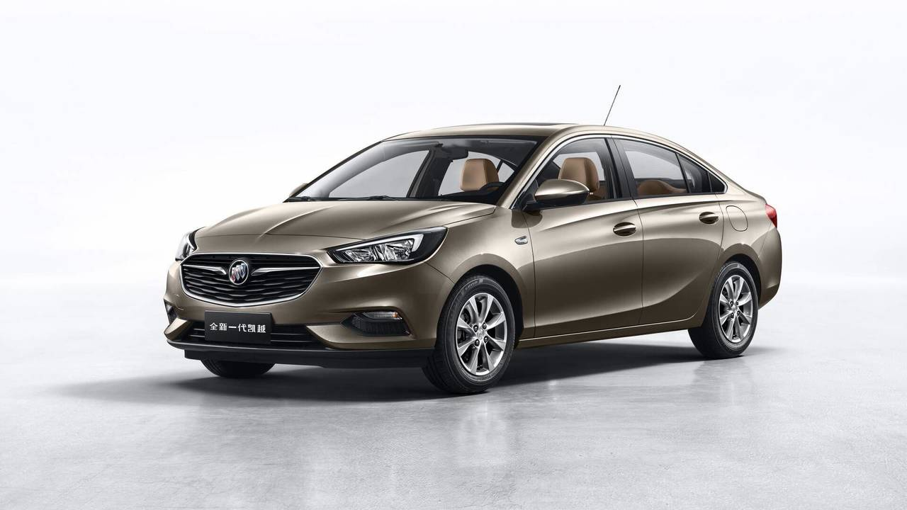 2018 Buick Excelle (China Spec)