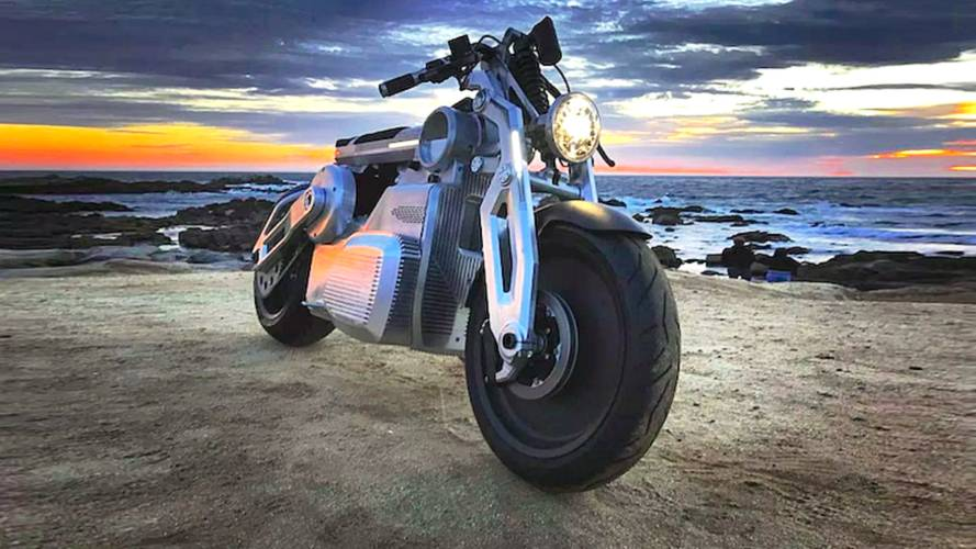 Curtiss Motorcycles' Fully-Electric Zeus Prototype