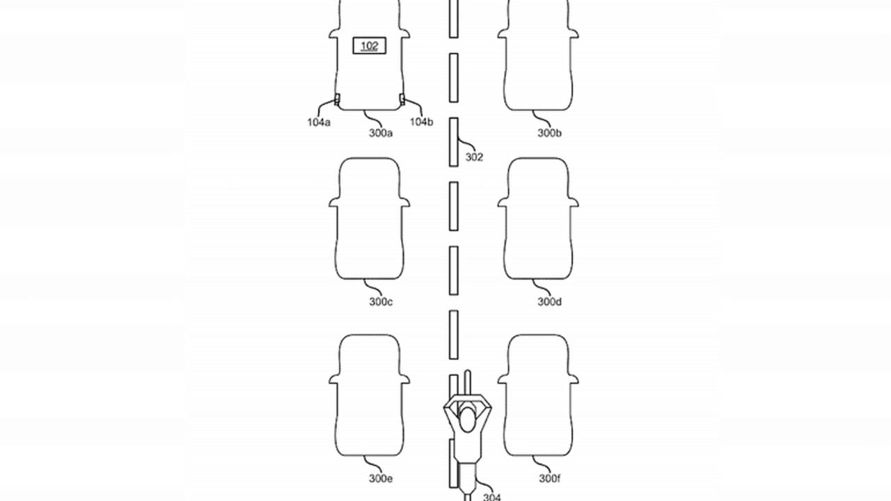 Figure 3 from Ford's recent patent shows how the system will work