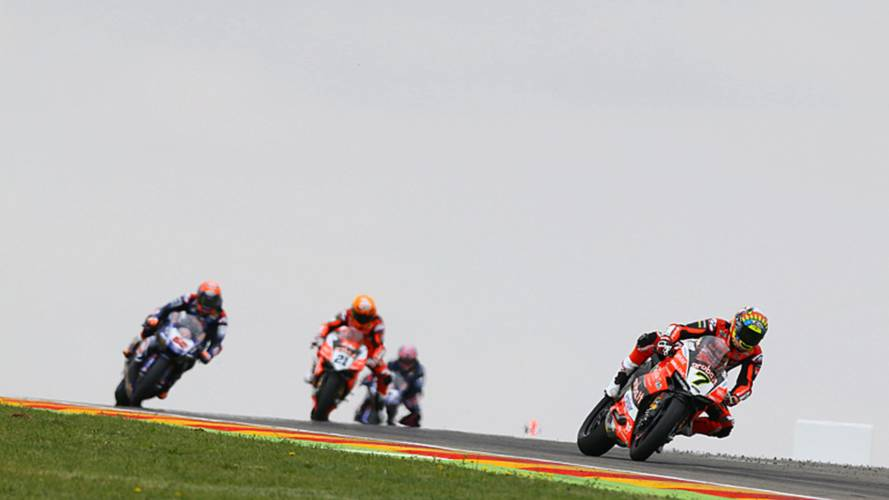 Aragon WSBK: Davies Wins As Fores Crashes From Lead