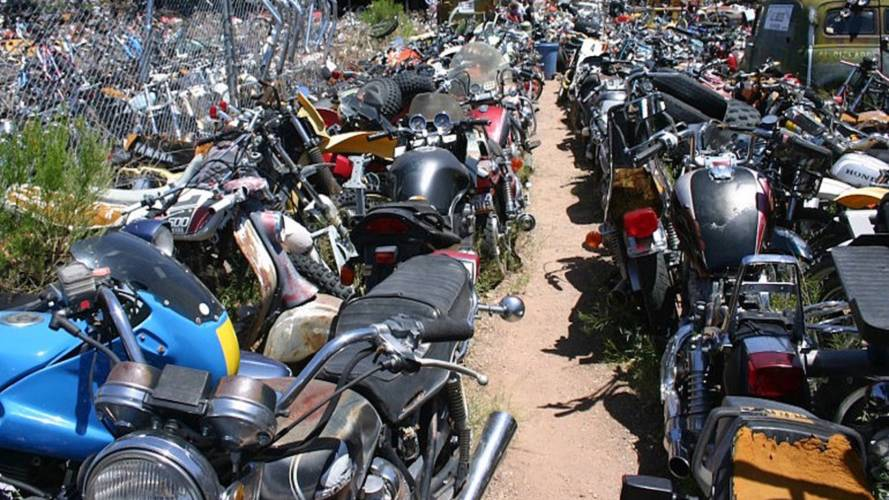 Southern California Moto-Chop Shop Busted