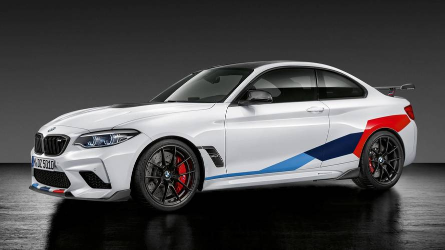 BMW M2 Competition 2018: más exclusivo, con accesorios M Performance