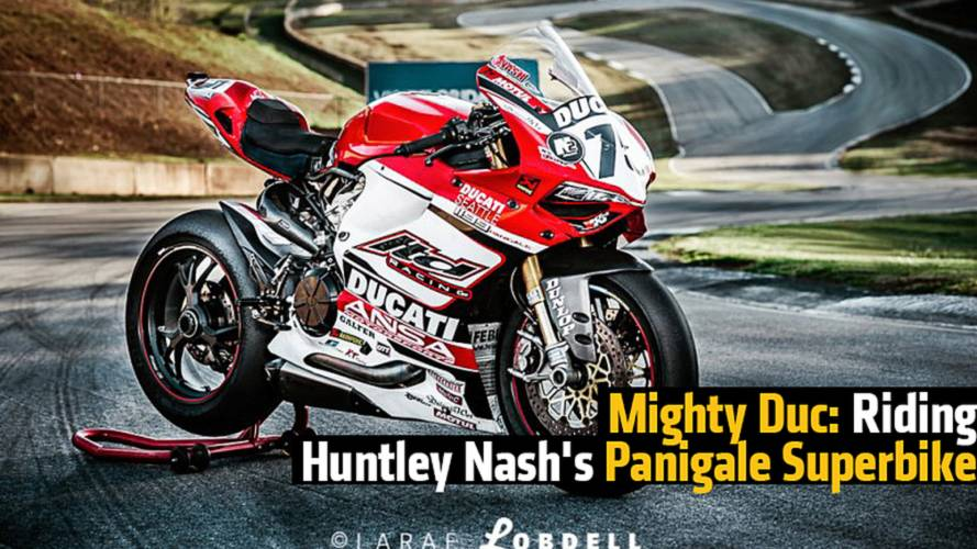 Mighty Duc: Riding Huntley Nash's Panigale Superbike
