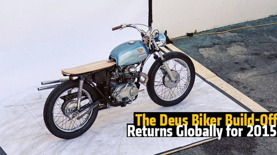 The Deus Biker Build Off Returns Globally for 2015