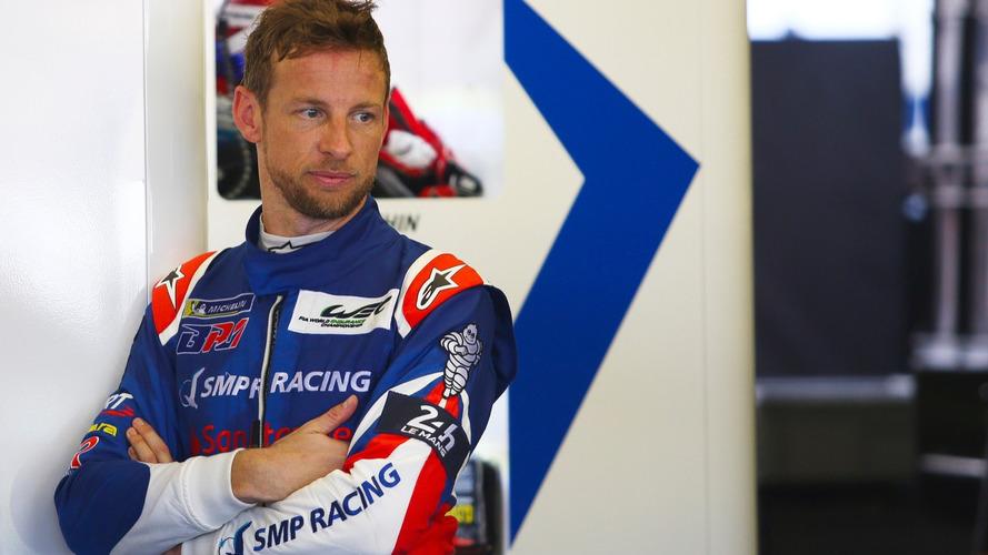 Jenson Button's Le Mans test