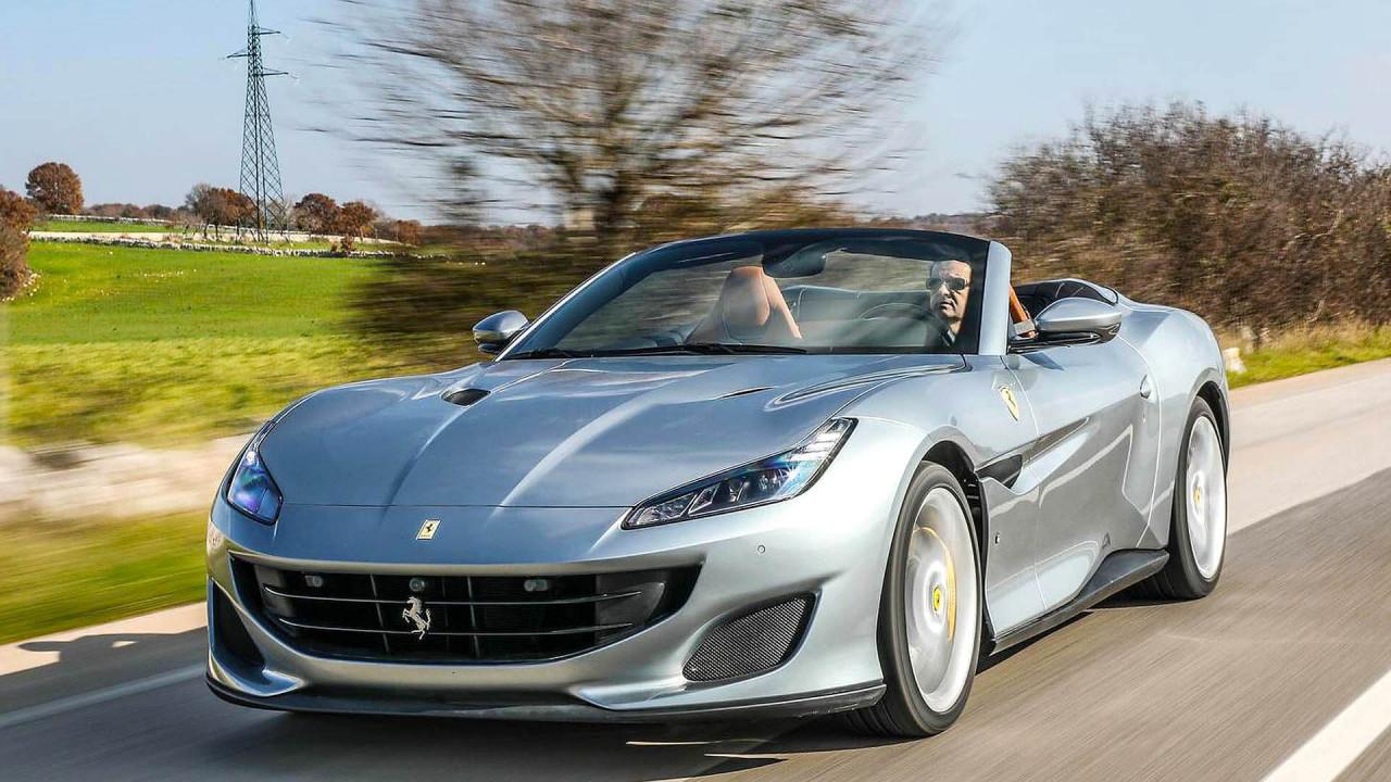 Platz 9 (geteilt): Ferrari Portofino; 14 Sekunden