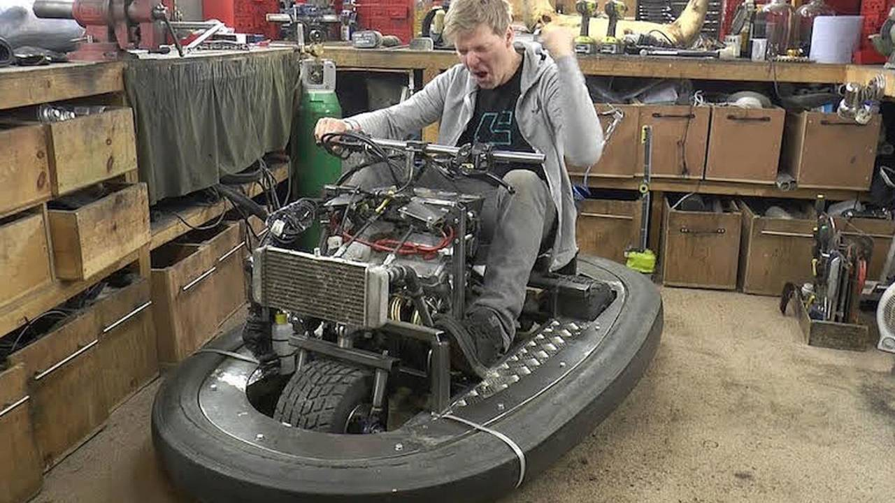 British Man Builds CBR-Powered Bumper Car –Because Why Not?