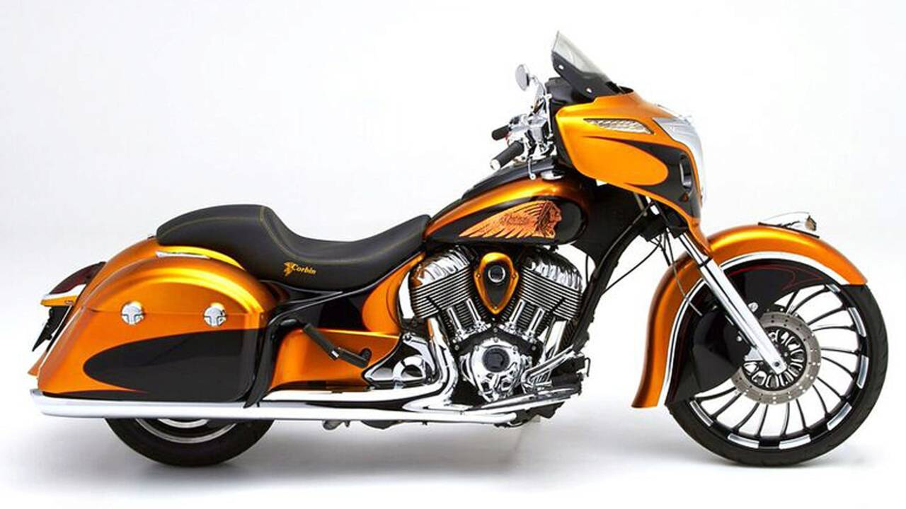 Project Chieftain Bagger Contest Winners Revealed
