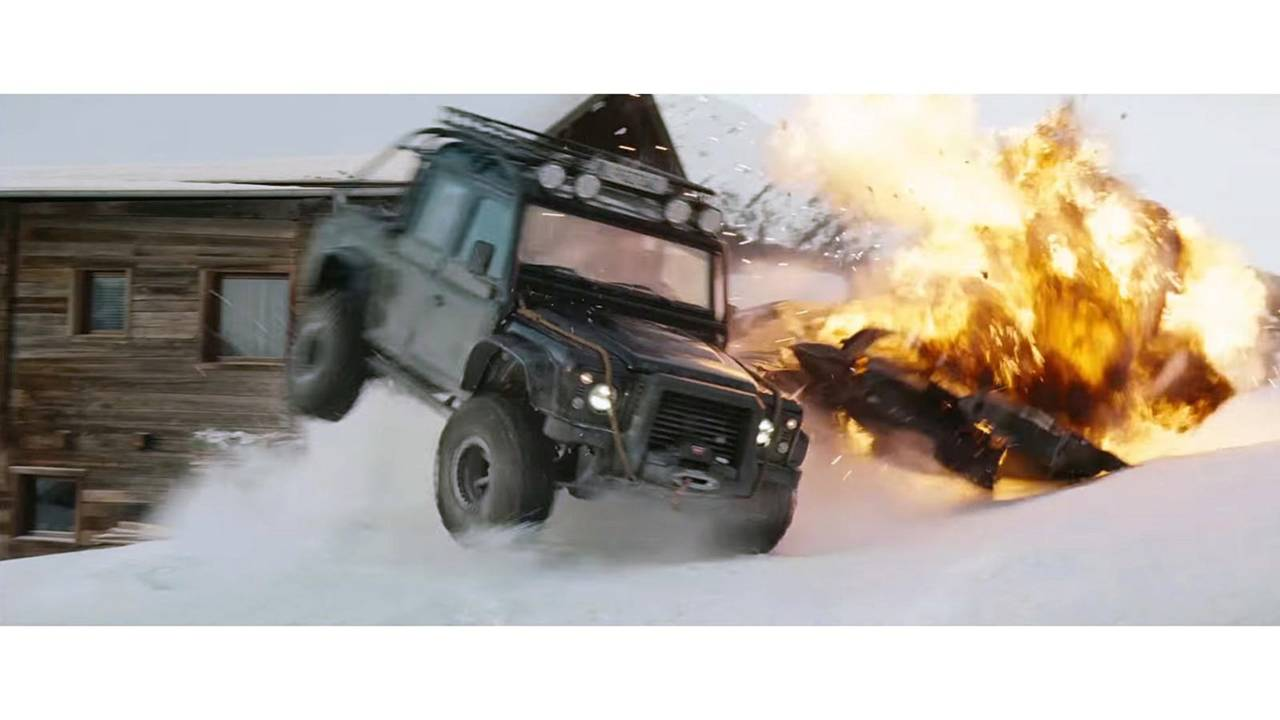 Land Rover Defender SVX from James Bond Spectre film