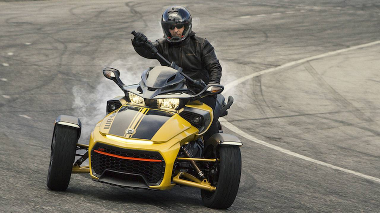 Can-Am Set to Mark Spyder's 10th Anniversary
